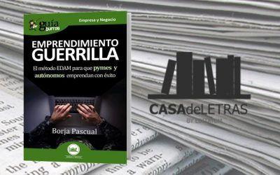 El 'GuíaBurros: Emprendimiento guerrilla' en Casa de Letras