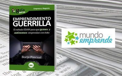 El 'GuíaBurros: Emprendimiento guerrilla' en la web de Mundo Emprende