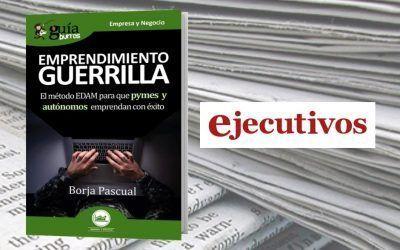 El nuevo libro de Borja Pascual en la revista Ejecutivos